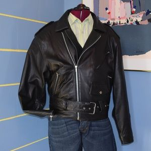Leather Motorcycle Tannery West jacket!